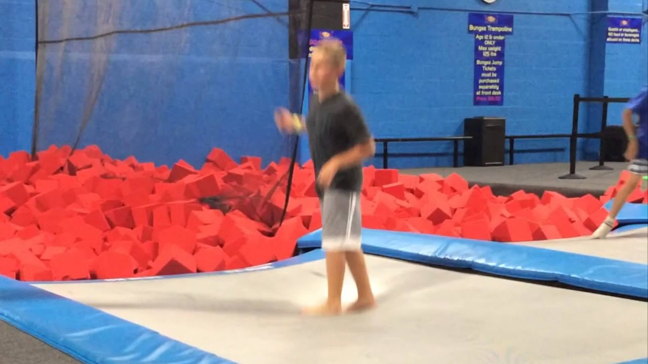 bounce in long island new york trampoline place jumping fun alex and