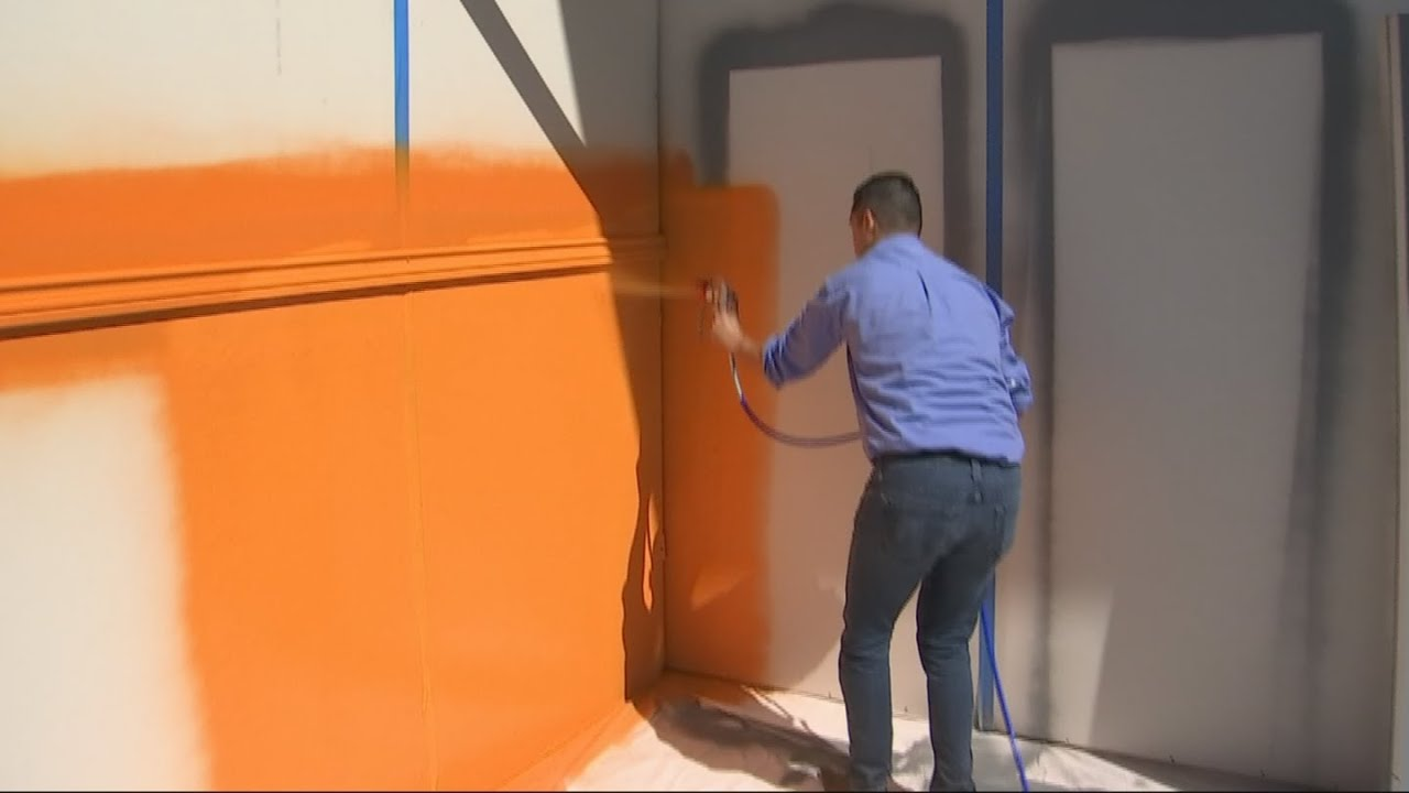Video Home Depot Debbie S Tips On Paint Sprayers