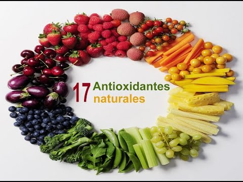 17 antioxidantes naturales