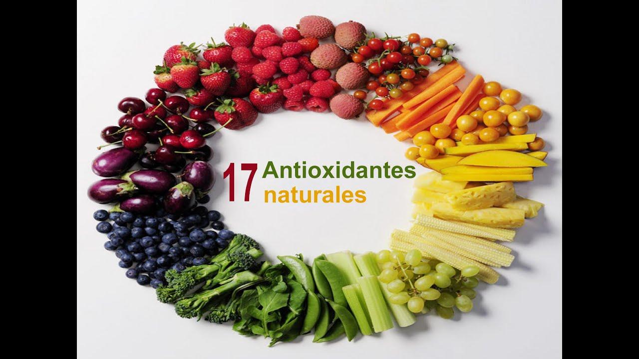 17 antioxidantes naturales - YouTube