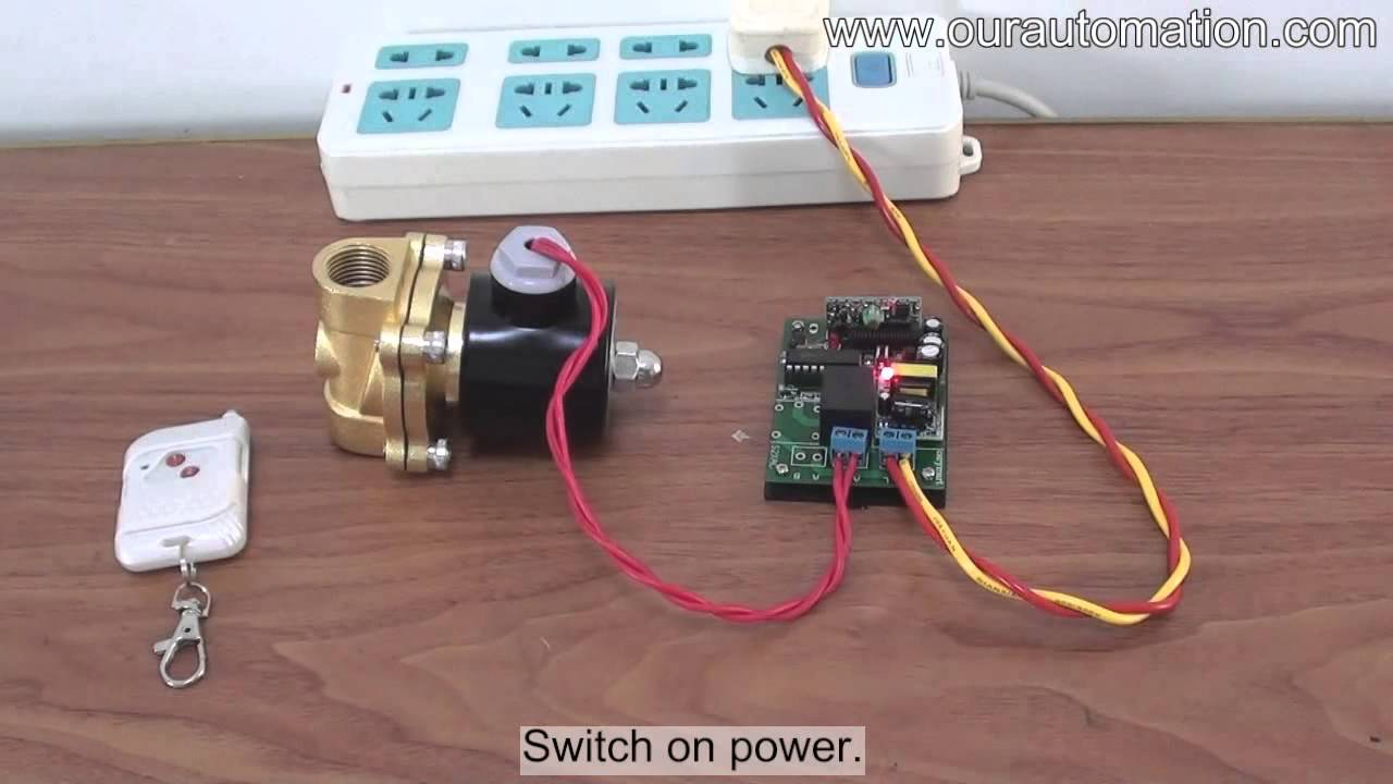 how to remote control ac 220v solenoid valve youtube rh youtube com ac solenoid wiring ac solenoid wiring diagram 2008 saturn vue