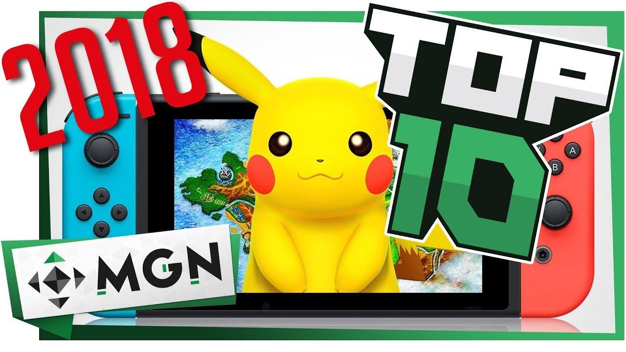 10 Juegos De Nintendo Switch Mas Esperados En 2018 Mgn Youtube
