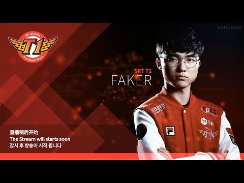 SKT T1 Faker Live Stream LOL - First games on new patch, HELP ME