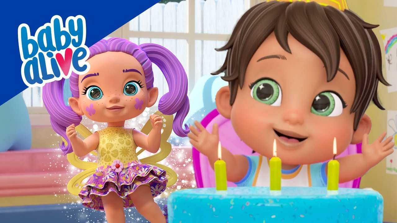 """""""Baby Alive"""" Kids Animated Series Release"""