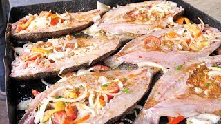 Egyptian Street Food - Seafood HEAVEN + Traditional Egyptian Food Adventure in Alexandria, Egypt! thumbnail