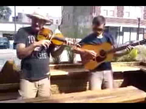 Chico & The Moore play Fishers Hornpipe