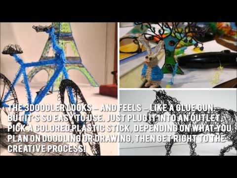 3Doodler 3D Printing Pen Review - Review of 3D Printing Pen 3 Doodler