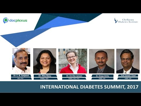 Faculty Talks About The International Diabetes Summit