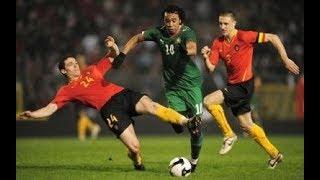 Belgium 1_4 Morocco l  Inter Friendly 2008 بلجيكا 1_4 المغرب  ودية دولية