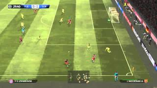 GamePlay PES 2015 | Bayern Munich VS FC Barcelona 2-1 | Latino