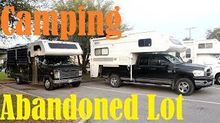 Camping In An Abandoned Lot & Driving Down The Gulf Coast Highway