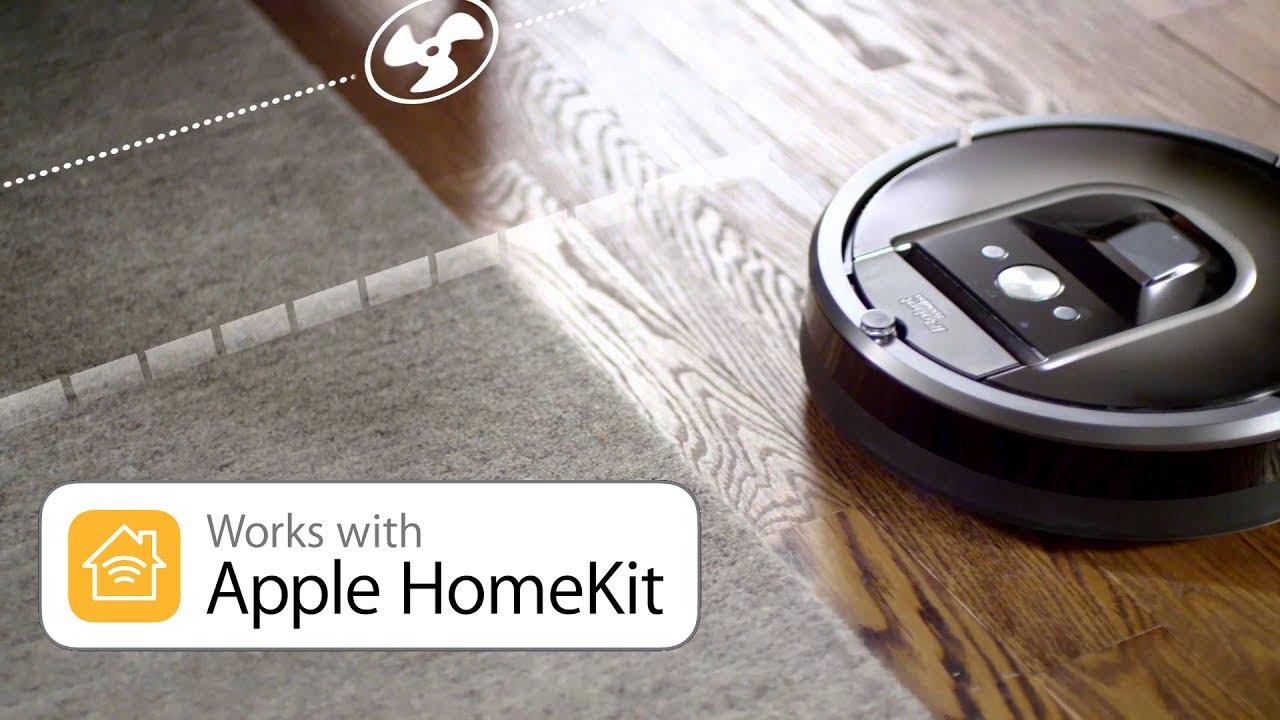 iRobot Roomba 980,966,960 (Series 900) works with Homekit and Siri