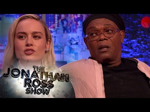 Brie Larson Convinces Samuel L. Jackson That Crazy Is Harder Than Real Golf - The Jonathan Ross Show