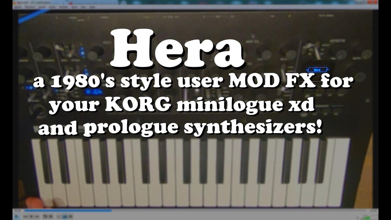 Korg Digital VCO - Prologue/Minilogue XD-Modelle - Sequencer