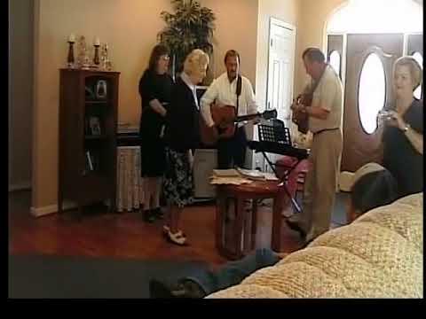 singing at kays house