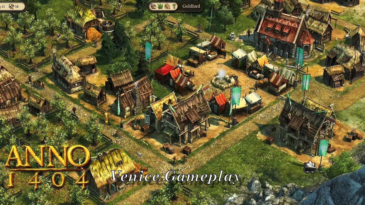 Anno 1404 Venice Gameplay - YouTube