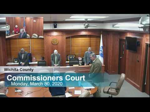 Commissioners Court 03/30/2020