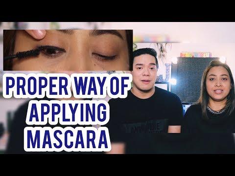 HOW TO APPLY MASCARA PROPERLY || VLOG_062