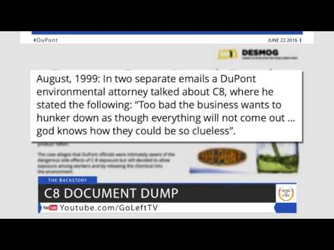 Internal C8 Poison Documents Show DuPont's Contempt For Human Life  - Lawsuit News