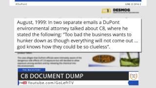 Internal C8 Poison Documents Show DuPont's Contempt For Human Life  - Lawsuit News