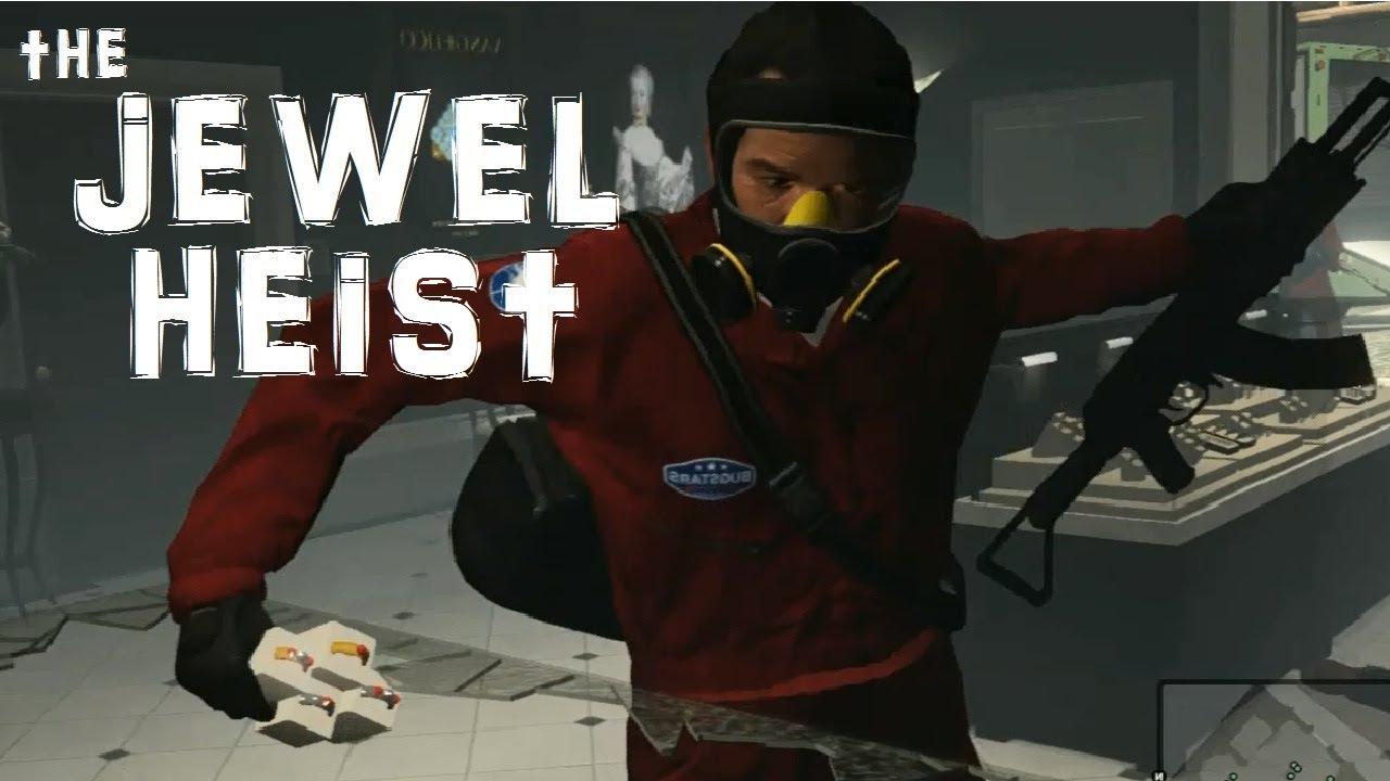 GTA 5 Heist - The Jewelry Store - Gamer Goat - YouTube