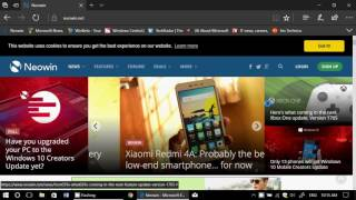 To enter full screen mode in Microsoft Edge Browser shift+Windows+E...