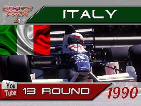 Grand Prix 4. Mod 1990. 13 round. Italy. Race.