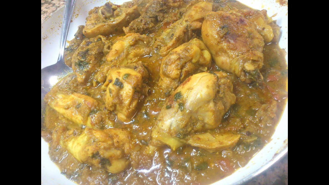 Desi chicken without oilpollo estilo india sin aceite youtube forumfinder Image collections