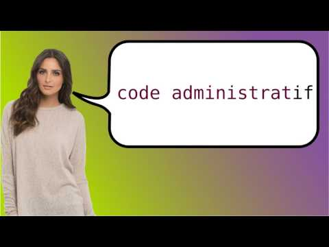 How to say 'administrative body' in French?