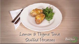 Lemon & Thyme Tuna Stuffed Potatoes
