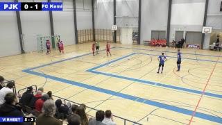 PJK - FC Kemi 02.12.2017 klo 17.00 Futsal-liiga
