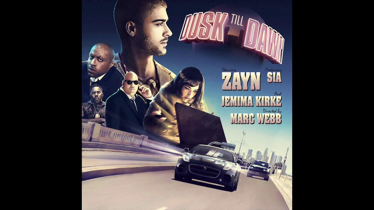 Zayn Dusk Till Dawn Feat Sia Official Instrumental Dusk Till Dawn Dusk Zayn