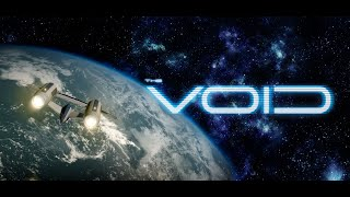 THE VOID - new sci fi movie intro - 3D space ship animation video (HD)