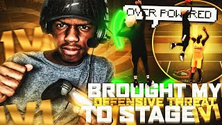 I BROUGHT MY OFFENSIVE THREAT TO THE STAGE  1v1 COURT! BEST BUILD & JUMPSHOT NBA 2K20