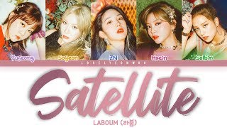 LABOUM (라붐) – Satellite Lyrics (Color Coded Han/Rom/Eng)