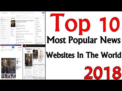 Top 10 Most Popular News Websites In The World   2018