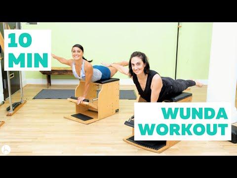 Ten Minutes in WundaLand Pilates Wunda Chair Workout!