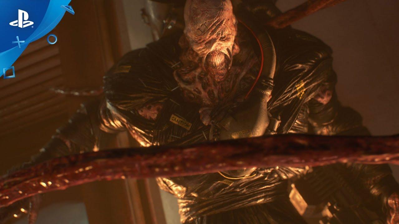 New Resident Evil 3 Trailer Showcases Nemesis S Monstrous Makeover