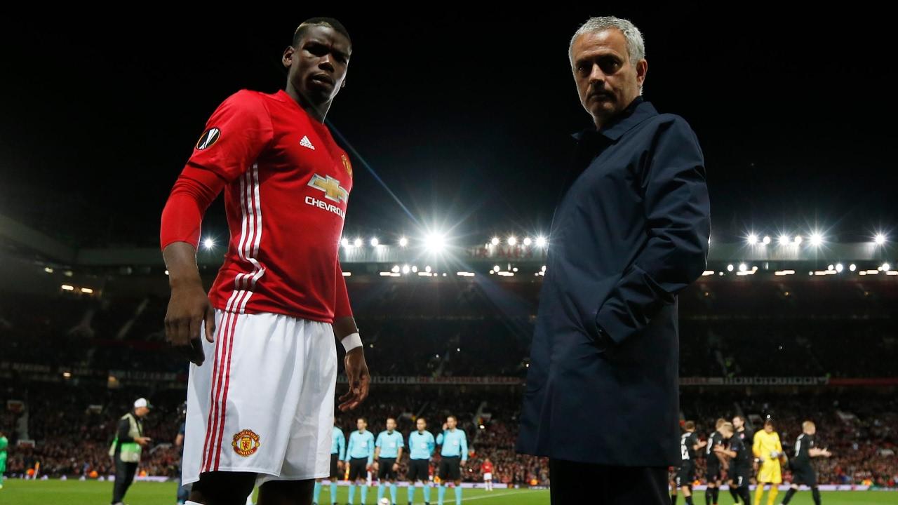 Resultado de imagen para mourinho vs pogba
