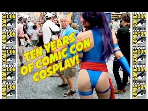 Comic-Con 2018 10-Year BEST COSPLAY SUPERCUT!