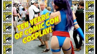 Comic-Con 2018 10-Year BEST COSPLAY SUPERCUT!