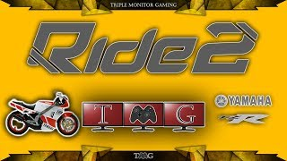 RIDE 2 Yamaha TZR @ French Riviera | Triple monitor gameplay 5760x1080