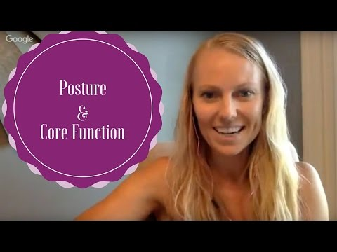 Posture and Core Function