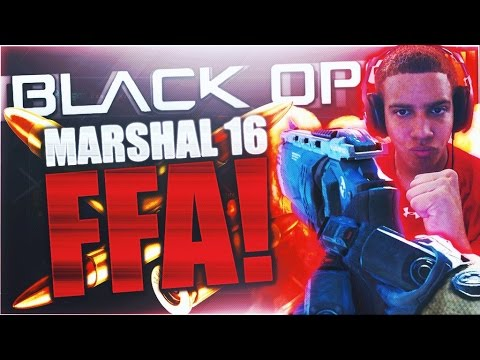 "NUKED OUT?! AKIMBO PISTOLS are AMAZING - Black Ops 3 NEW ""MARSHAL 16"" DLC PISTOL FFA Gameplay! (BO3)"