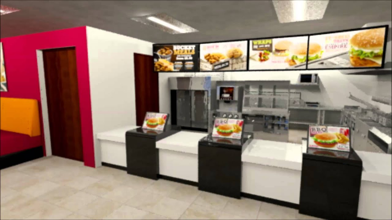 Take a look around our virtual Southern Fried Chicken store - YouTube