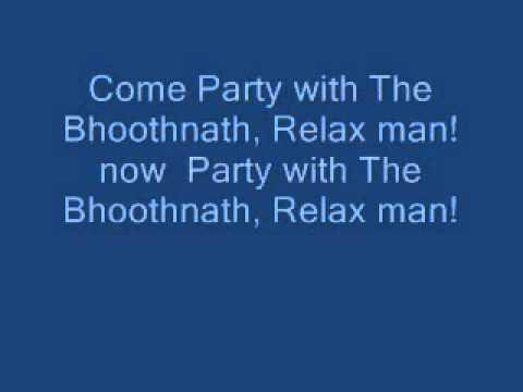 party with the bhoothnath lyrics
