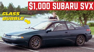 I BOUGHT The Weirdest SUBARU Ever For $1,000 *Subaru SVX*