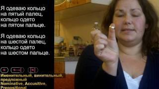 Аэробика русского языка - 3 - Русские падежи