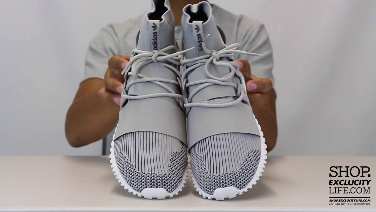 e36346f8d7b6 Adidas Tubular Doom PK Granite Unboxing Video at Exclucity - YouTube