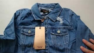 Женская джинсовая куртка с Алиэкспресс, обзор-распаковка.